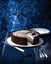 Martha Stewart's Spiderweb Cheesecake