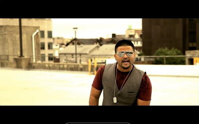 Still-shot from music video for Desi Aage Ne [Photo Courtesy: G-Deep]