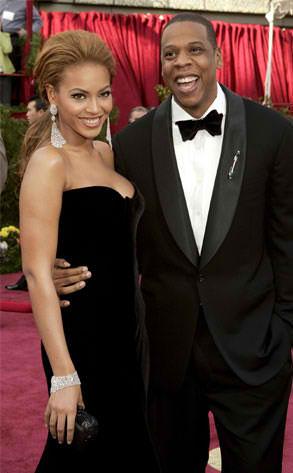 Proud Parents Beyonce & Jay-Z
