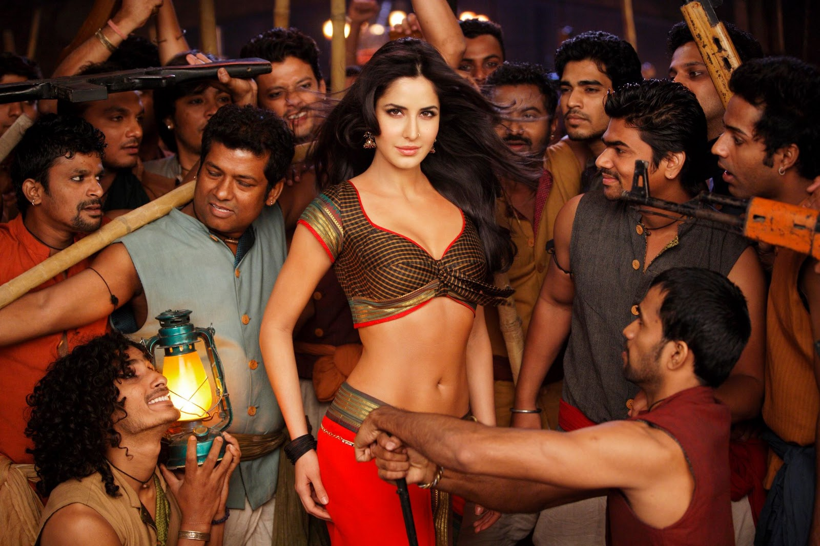 Katrina Kaif for Dharma Productions 'Agneepath' in the song 'Chikni Chameli'
