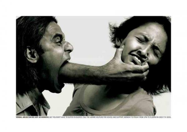 Domestic Violence is Also Verbal & Emotional Abuse