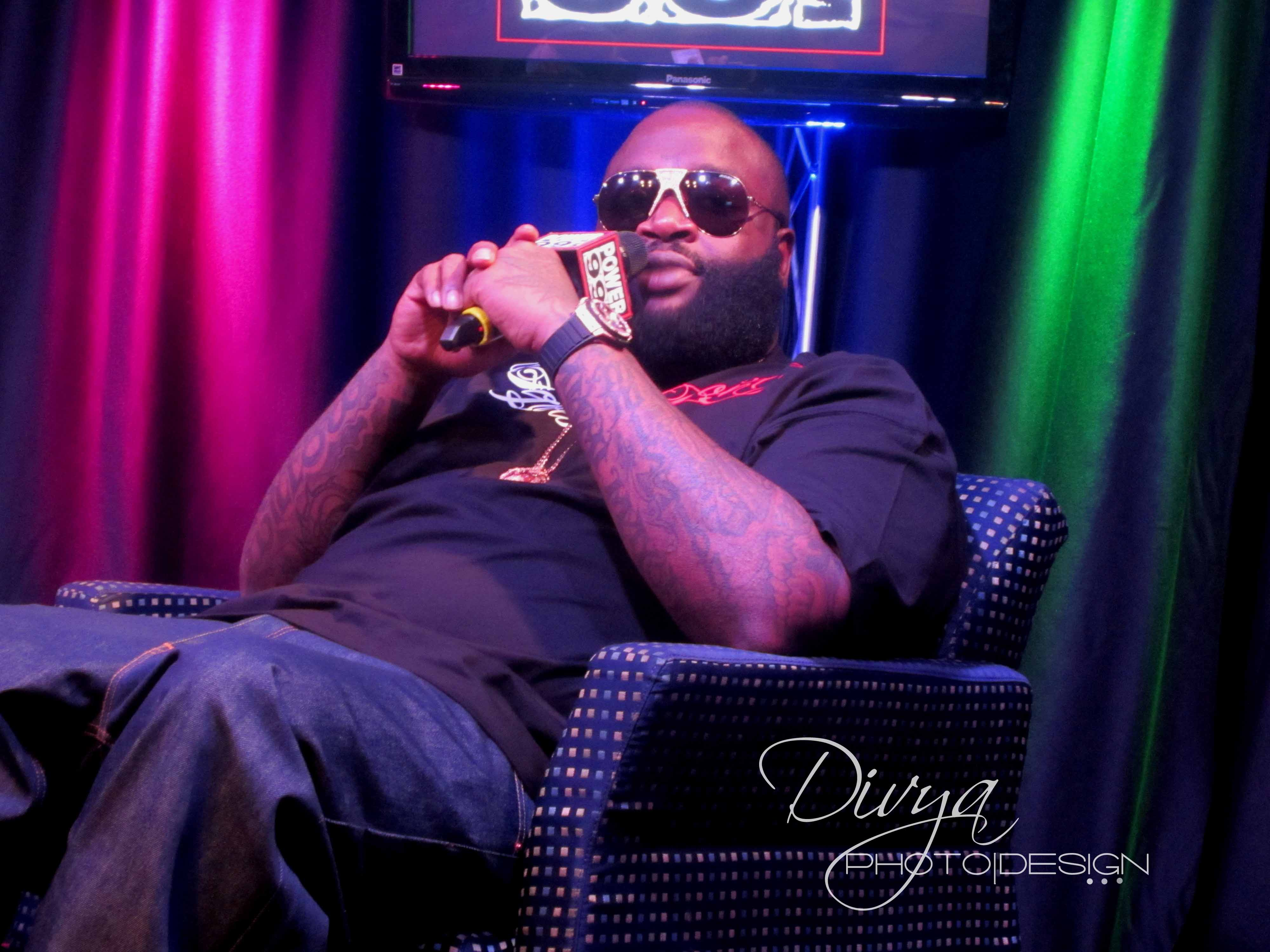 Rick Ross [Photo Courtesy: Divya Photo-Design]