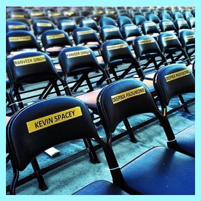 Who do you think has the best seat at the 2014 #IIFAawards? #iifa #iifa2014 #2014iifa #2014iifaawards #bollywood #bollywoodawards