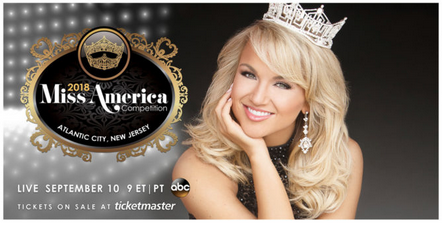 Tickets on Sale Now for The 2018 Miss America Competition